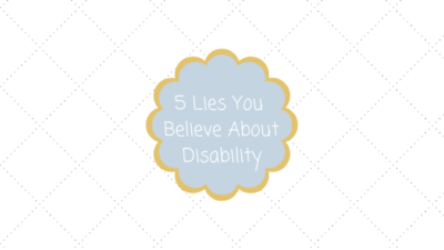 Five Lies You Believe Blog Title