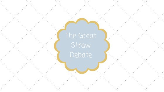 The Great Straw Debate Blog title